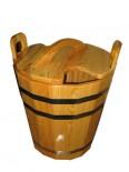 Запарник с крышкой для бани 40 литров