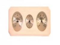 Термогигрометр SAWO с часами вне сауны 260-ТНА
