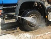 Установка оборотного водоснабжения мойки колес грузовых автомобилей